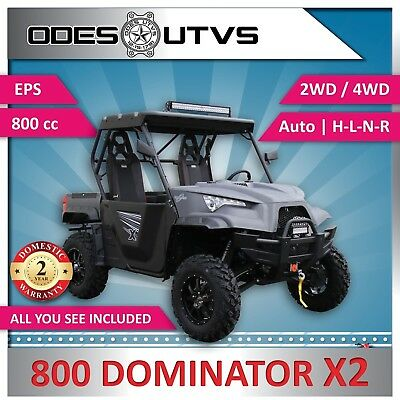 New ODES 800 Dominator X2 UTV Side by Side SAVE! $5900