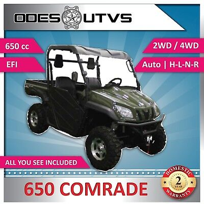 New ODES 650 Comrade UTV Side by Side SAVE! $4350