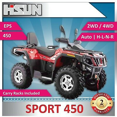 New Hisun S450 Sport Quad Bike 450cc H-L-N-R 2/4WD | EPS