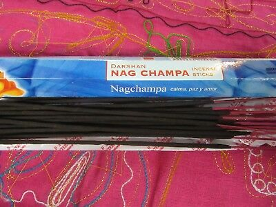 HEX varieties Darshan Nag Champa Incense 20 sticks Made in India 15gm Aroma