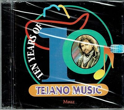 Mazz  Ten Years of Tejano Music    BRAND  NEW SEALED  CD
