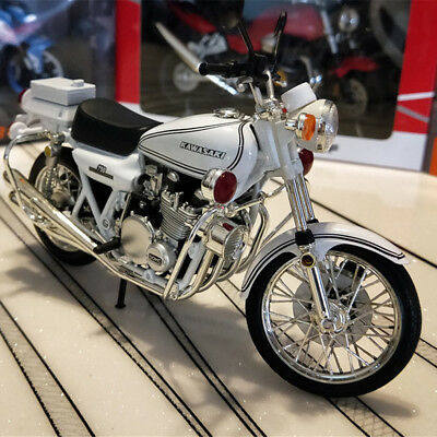 1/12 Scale Kawasaki 750 Motorbike Alloy Diecast Model Racing Toys Collections