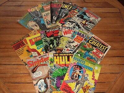 Vintage Collection of MARVEL, DC etc COMICS. Good Condition. SEE BELOW