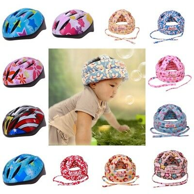 Baby Kids Walking Sports Safety Helmet Headguard Head Protector Cap Adjustable