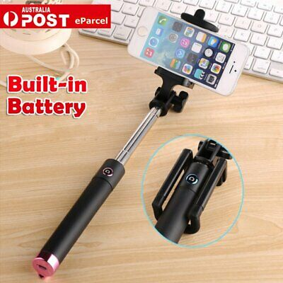 Bluetooth Extendable Handheld Remote Selfie Stick Monopod For Samsung iPhone 8 X