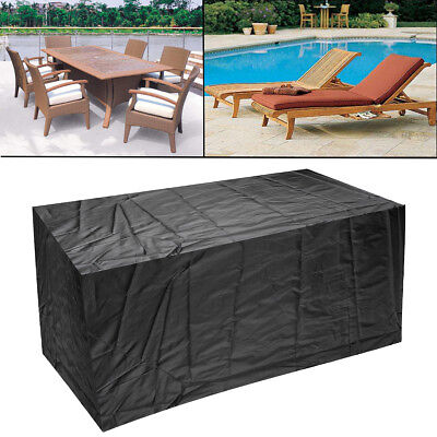 Waterproof Patio Loveseat Chair Sofa Cover Outdoor Furniture Weather Protection