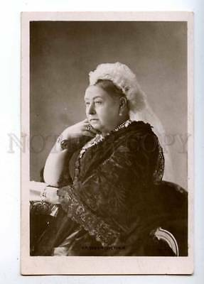 194006 H.M. Queen VICTORIA Vintage ROTARY photo PC