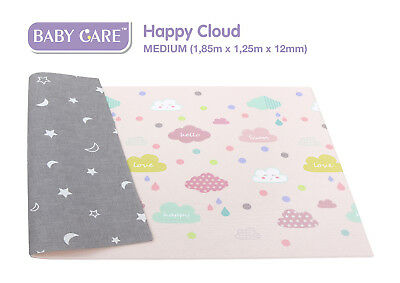Spielmatte - Kinderspielmatte - BABY CARE - Happy Cloud - Playmat - Mat - M