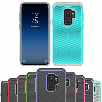 Shockproof Heavy Duty Gel Case Cover For Samsung Galaxy S6 S7 Edge S8 S9 Plus +