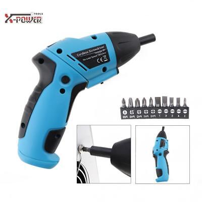 Cordless Drill Driver Household Rechargeable Electric Screw Screwdriver Repair