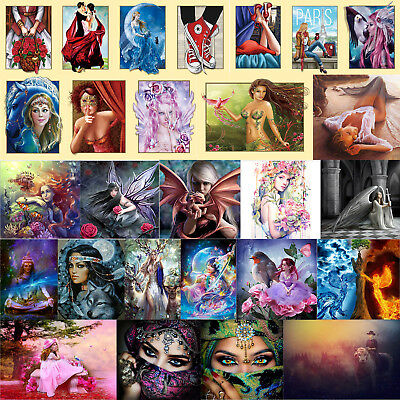 Beauty Pattern 5D Full Diamond Painting Embroidery DIY Needlework Home Decor