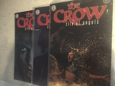 The Crow City of Angels - graphic novel  #1, 2 & 3 (of 3)