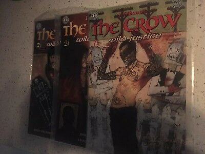 The Crow Wild Justice - graphic novel #1, 2 & 3 (of 3)
