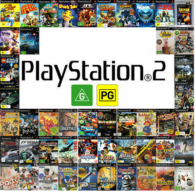 Game Selection PS2 🎮🎮 FOR SONY PLAYSTATION 2 🎮🎮 Games G or PG  19/06/18