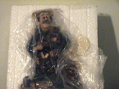 Boyds Bears T H Bean The Bearmaker Elf Resin Figurine Wee Folkstone Collectible