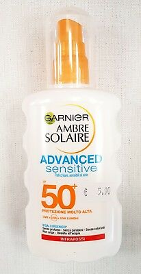 Garnier Spray Advance Sensitive - Protezione 50+