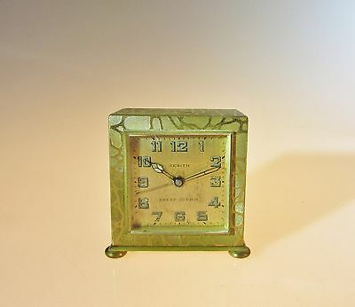 Beautiful Vintage Zenith travel clock Circa 1930's