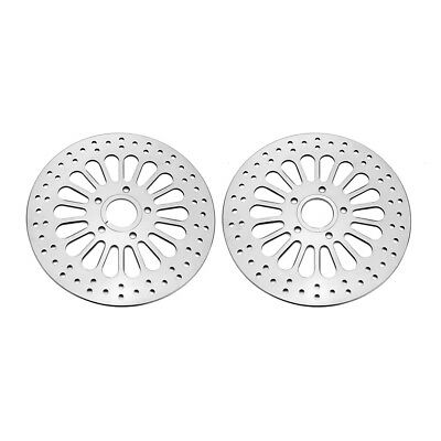 "11.5"" Front Rear Disc Disk Brake Rotor Set For Harley Softail Dyna 1984-2013"