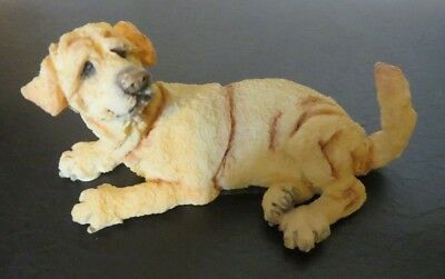 A Breed Apart 2004 Dog Figurine, Country Artists, Yellow Lab Mini #70316