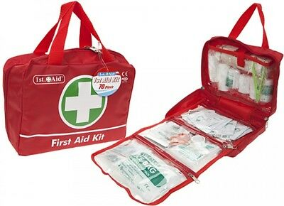 70+ Pieces Luxury First Aid Kit Bag Includes Ice packs For Travel Home Car