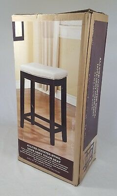 Admirable Linon Allure 26 In Backless Counter Height Stool 18W X 12D Gmtry Best Dining Table And Chair Ideas Images Gmtryco