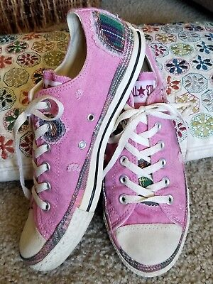 Converse All Star Sneakers,  Women's Size 10, Multi Colors