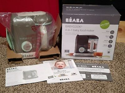BEABA Babycook4in1 Steam Cooker and Blender, 4.7 cups, Dishwasher Safe, BPA FREE