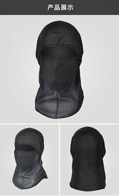 Cycling Full Face Mask Cap Cover Fleece Face Shield Protect From Wind Dirt Bugs