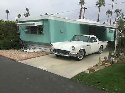 ~Palm Spring Mid Century Gem~ Turquoise, of course. - Fully restored.