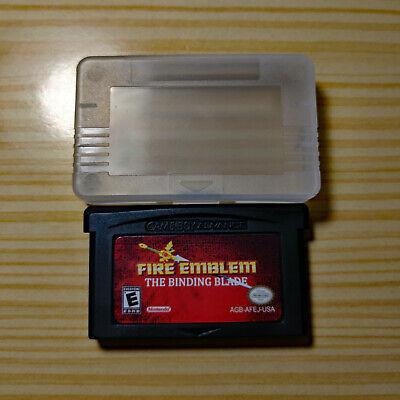 Fire Emblem: The Binding Blade Sword of Seals Game Boy Advance English GBA