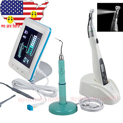 Dental Obturation System Endo Heated Pen + Endo Motor + Apex Locator