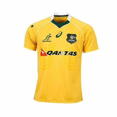 RUGBY Wallabies 2016 Mens Pro Jersey, Sizes  S -  3XL