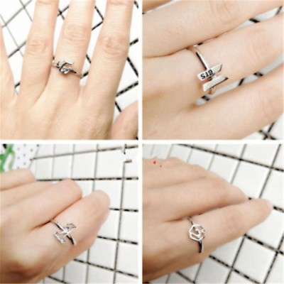 Punk Kpop BTS Got7 Wanna One Twice Bangtan Boys Women Finger Ring Adjustable HOT