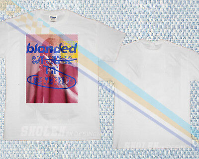 T-SHIRT Blonded Frank Ocean FYF Los Angeles tour Concert LIMITED NEW GILDAN