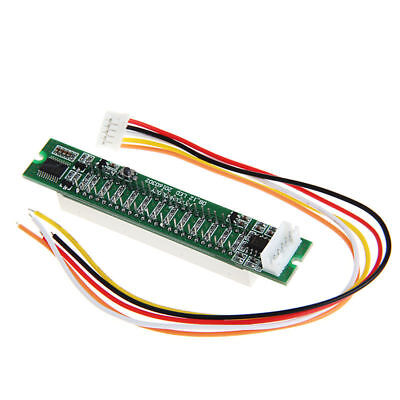Meter Music Sound Audio Display Analyzer DIY Kit Mini Dual 12LED Level Indicator