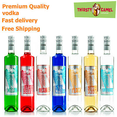 Divas Vkat Vodka - 700ml - Premium Quality Vodka