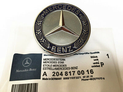 logo embl me capot mercedes benz 57mm amg logo pour capot insigne sigle eur 12 89 picclick fr. Black Bedroom Furniture Sets. Home Design Ideas