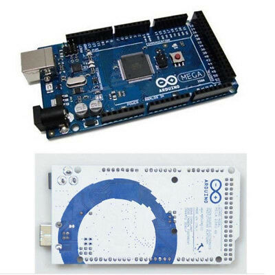 Blue ATMEGA16U2 Board For Arduino Mega 2560 R3 Board Kit Compatible + USB Cable