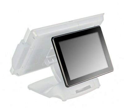 "POSIFLEX 9.7"" rear-mount LCD 2nd display for Posiflex series terminal"