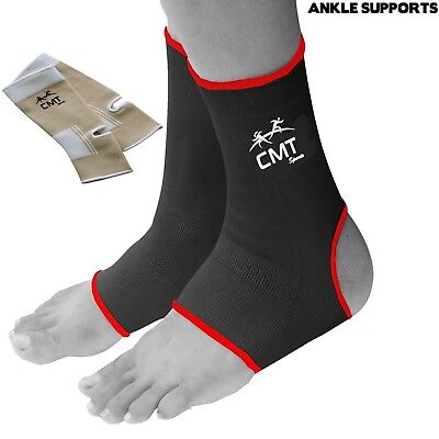 Ankle Brace Support Pad Guard Protector MMA Foot Muay Thai Boxing Gym Sports