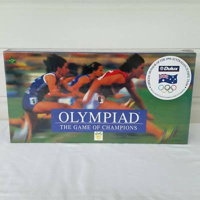 Olympiad The Game of Champions Board Game 1993 New & Sealed