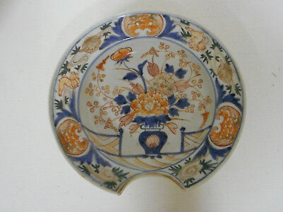 Grand Plat  A Barbe Ancien En Porcelaine Imari.chine.xviii°.