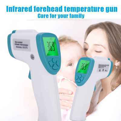 FI04 Babies Adult Non Contact Infrared Digital Clinical Thermometer Temperature