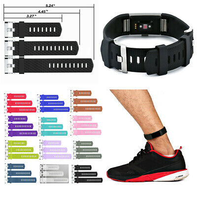 3Pcs Extender Band For Fitbit Charge HR/Charge 2 Fitness Tracker Ankle Wristband