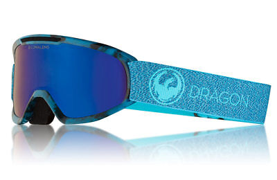e63d462343f4 NEW Dragon Alliance DX2 Mill Snow Goggles with LumaLens Blue Ion Finish