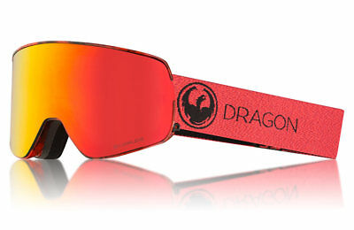 b8097dbde69e NEW Dragon Alliance NFX2 Mill Snow Goggles with LumaLens Red Ion Finish