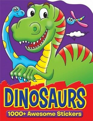 Dinosaur Sticker Book Children's Activity Book - 1000 Stickers - Colouring