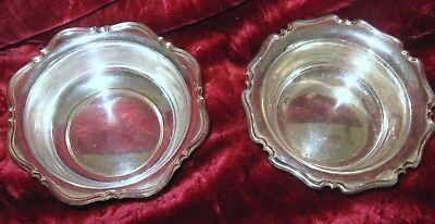 1 - Lot of 2 - Atkins Brothers Sheffield Victorian Salt Cellars (2018-105D)