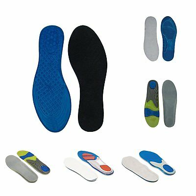 Orthotic Insole Pain Relief Athletic Sock Absorb Cushion 1 Pair and 3 Pair Packs
