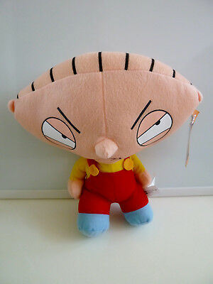 """Stewie Griffin Family Guy Plush Stuffed Animaly Doll Toy 12"""" NWT New 2004"""
